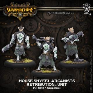Retribution Unit House Shyeel Arcanists