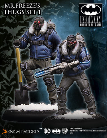 Mr Freeze Thug Set 1