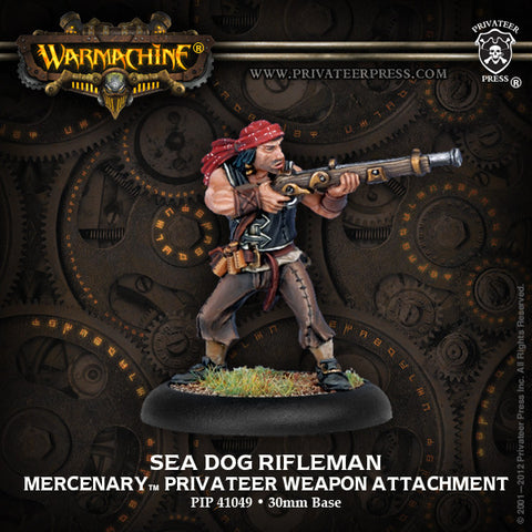 Mercenary Sea Dogs Weapon Attach. Rifleman