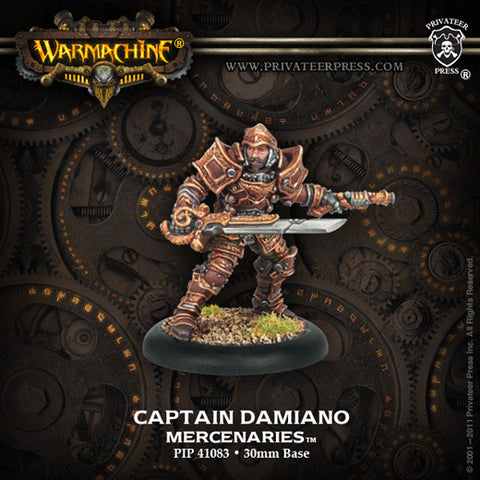 Warcaster Captain Damiano