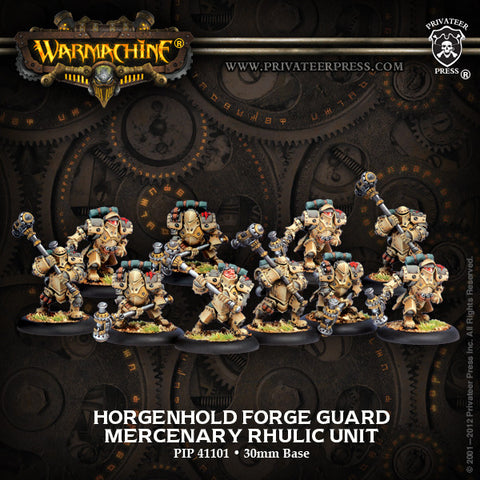 Mercenary Horgenhold Forge Guard