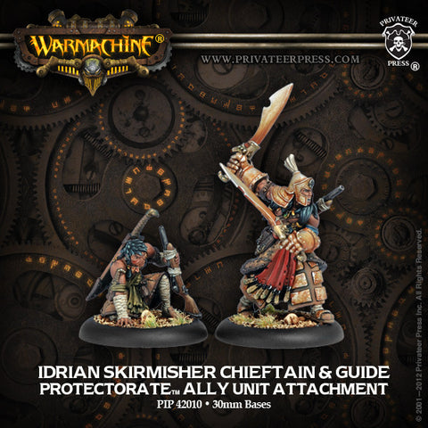Protectorate Allies Idrian Skirmisher Chieftain & Guide