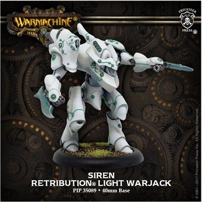 Retribution Light Warjack Siren