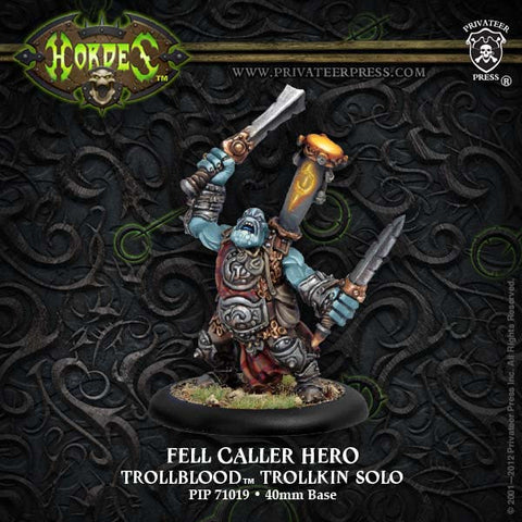 Trollblood Fell Caller Hero