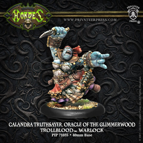 Trollblood Oracle Of Glimmerwood Calandra Truthsayer