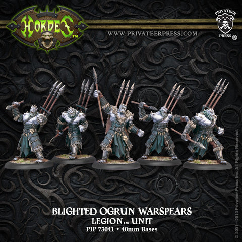 Legion Blighted Ogrun Warspears