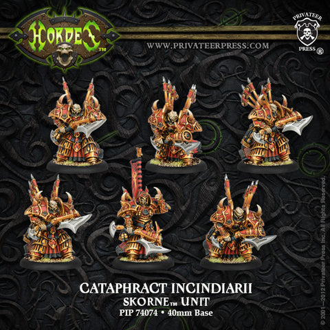 Skorne Cataphract Incindiarii