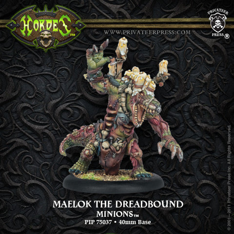 Minion Warlock The Dreadbound Maelok