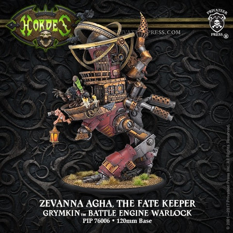 Grymkin Battle Engine Zevanna
