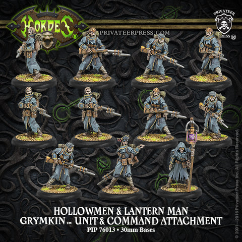 Grymkin Unit Hollowmen & Lantern Man