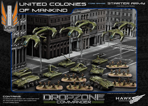 Drop Zone Commander: UCM Starter Army