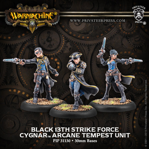 Cygnar Black 13Th Strike Force