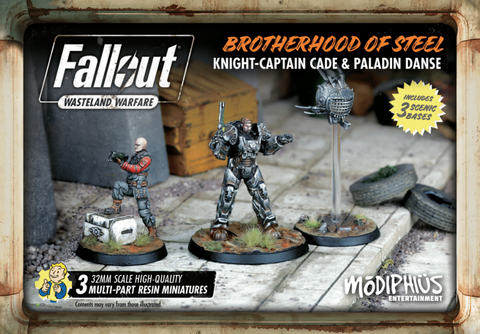 Brotherhood of Steel: Knight-Captain Cade and Paladin Danse