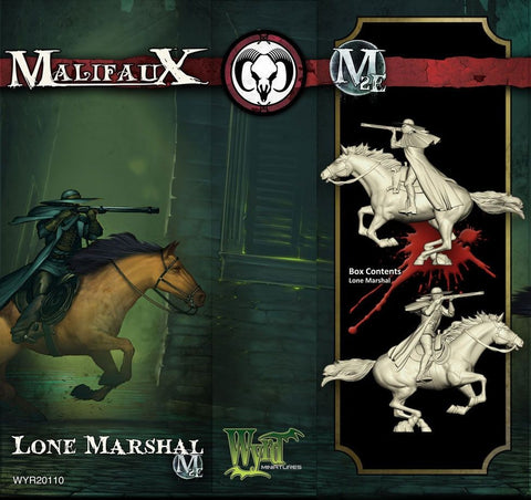 Malifaux: The Lone Marshal