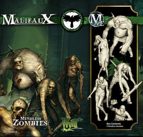 Malifaux: Mindless Zombies