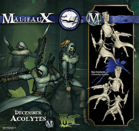 Malifaux: December Acolyte (3)