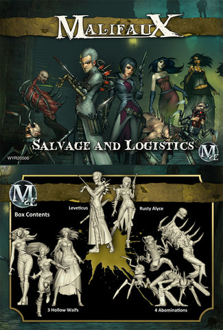 Malifaux: Salvage and Logistics (Leveticus Crew)