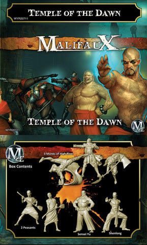 Malifaux: Shen Long Crew - Temple of the Dawn
