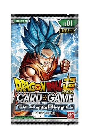 Dragonball Super Card Game Season 1 Booster Display Galactic Battle