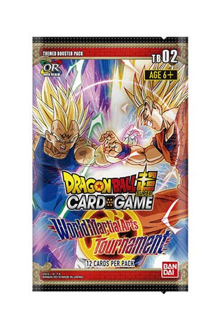 Dragonball SCG Season 2 Themed Booster World Martial Arts Tournament Display