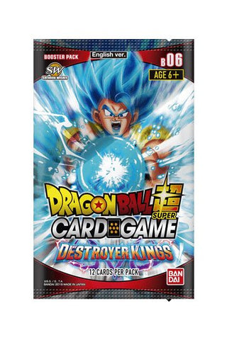 Dragonball Super Card Game Season 6 Booster Display Destroyer Kings