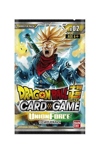 Dragonball Super Card Game Season 2 Booster Display Union Force