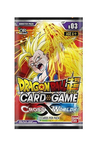 Dragonball Super Card Game Season 3 Booster Display Cross Worlds
