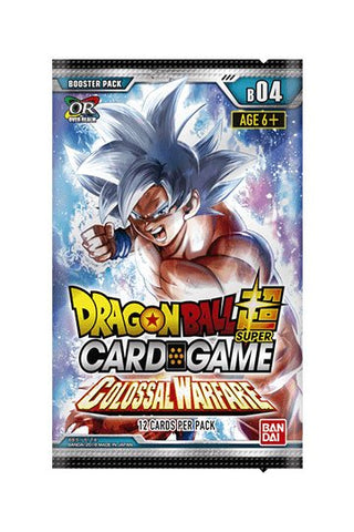 Dragonball Super Card Game Season 4 Booster Display Colossal Warfare