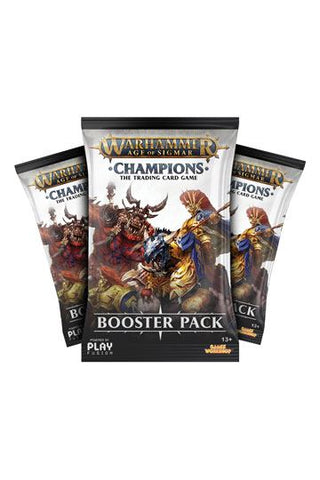 Warhammer Age of Sigmar: Champions Wave 1 Booster Display