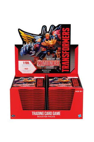 Transformers TCG Booster Box Rise of the Combiners
