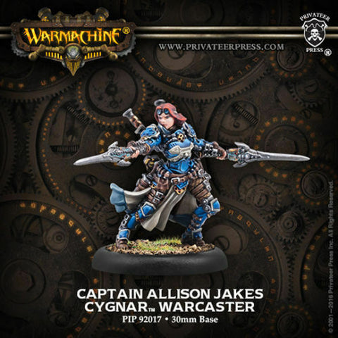 Cygnay Warcaster Captain Allison Jakes