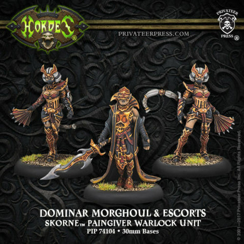 Skorne Unit Dominar Morghoul & Escorts
