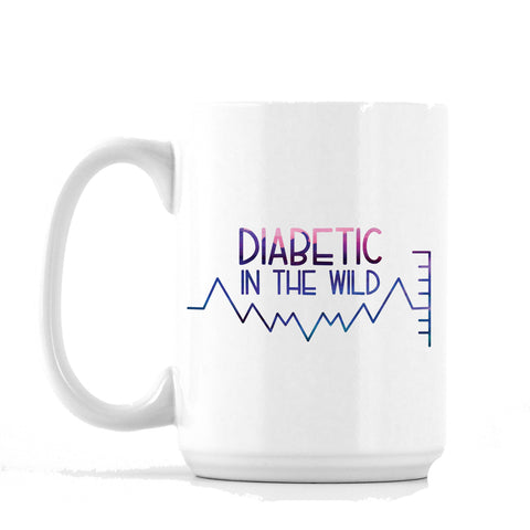 Diabetic in the Wild Mug