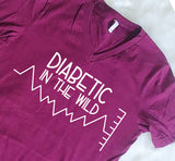 Diabetic in the Wild Tee Shirt