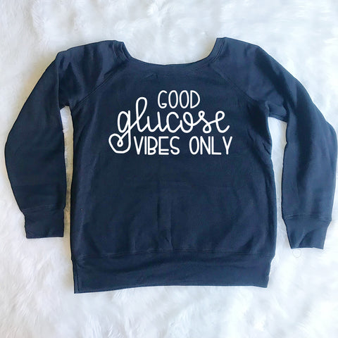 Good Glucose Vibes Only Sweatshirt