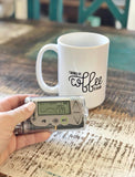 """Coffee and Insulin"" - 11oz or 15oz Coffee Mug"