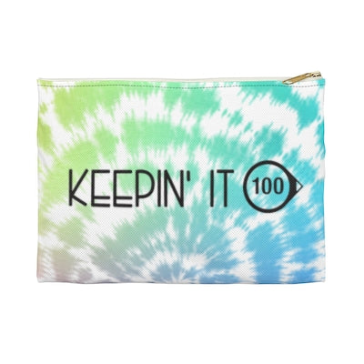 """Keepin' it 100"" - Printed Supply Bag"
