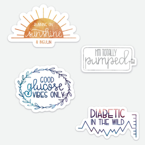 T1D Sticker Sample Pack