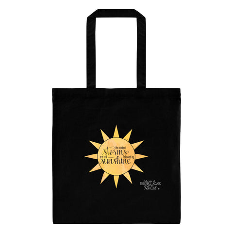 """Storms and Sunshine"" Tote Bag - Suicide Prevention"