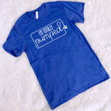 "SALE - ""Totally Pumped (Blue)"" - T-Shirt"