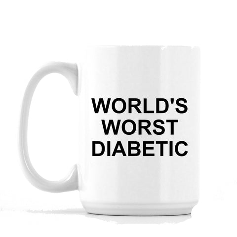"""World's Worst"" - 11oz or 15oz Coffee Mug"