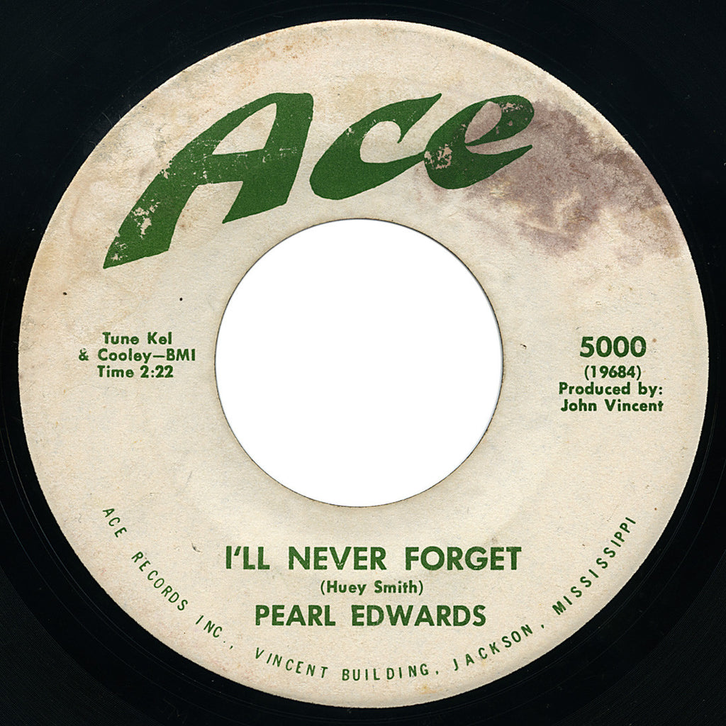 Pearl Edwards – I'll Never Forget – Ace