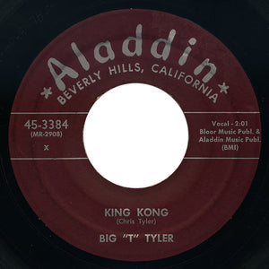 "Big ""T"" Tyler – King Kong / Sadie Green – Aladdin"