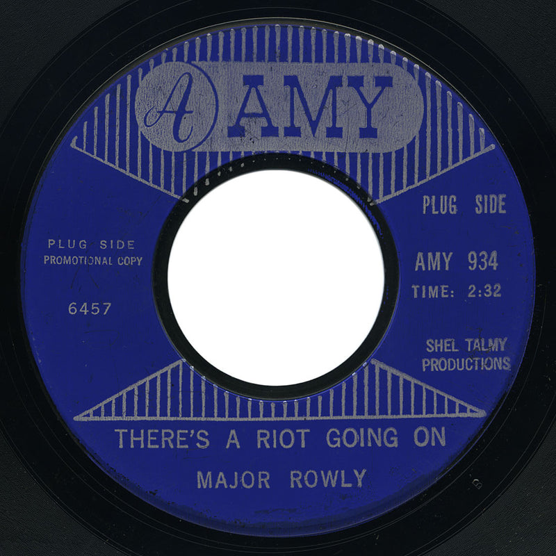 Major Rowly - There's A Riot Going On / Do It The Right Way - Amy