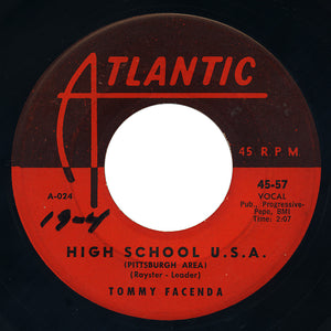 Tommy Facenda – High School U.S.A. (Pittsburgh Area) – Atlantic