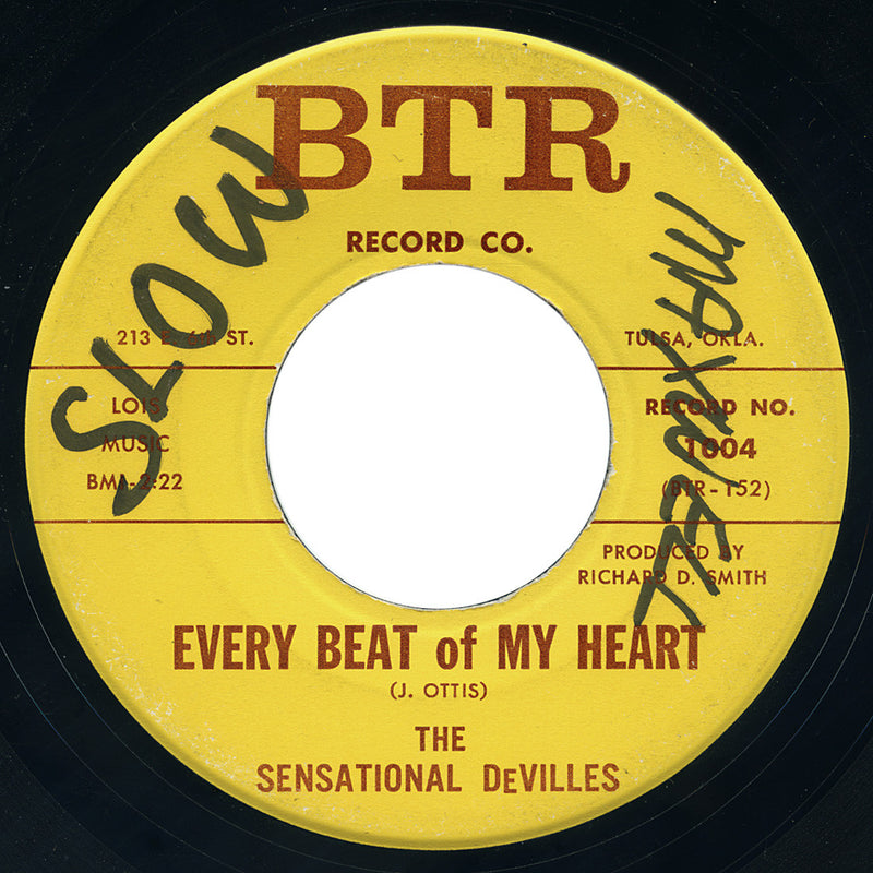 Sensational DeVilles – Every Beat Of My Heart – BTR