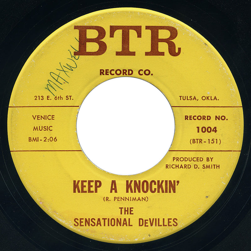 Sensational DeVilles – Keep A Knockin' – BTR