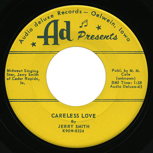 Jerry Smith – Careless Love – Ad