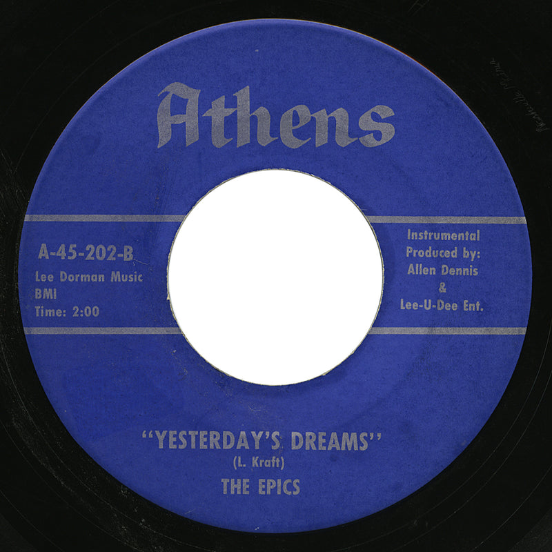 Epics – Yesterday's Dreams – Athens