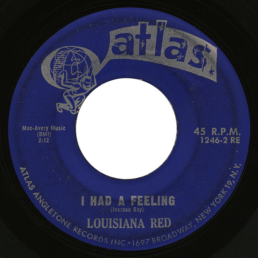 Louisiana Red – I Had A Feeling – Atlas